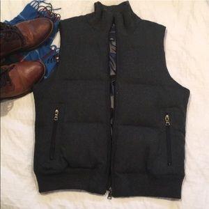 Wool Banana Republic Puffer Vest